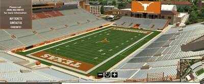 Texas Longhorns vs Oklahoma State Football Tickets 92119 Up to 12 CAN EMAIL