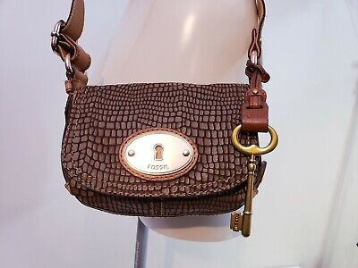 Fossil Reptile Lether Small Crossbody Bag ZB 4865