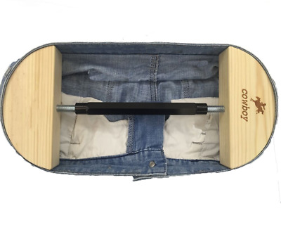 Pants Stretcher for Jeans with Aerial Aluminium Alloy Buckle Stretch 30 to 59
