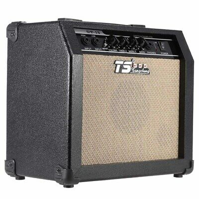 GM-215 Professional 15W Electric Guitar Amplifier Amp Distortion With Speaker