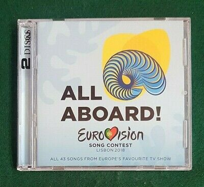 EUROVISION CD - All Aboard -  LISBON  2018