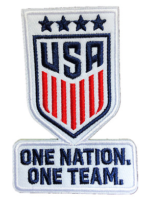2019 USA WORLD CUP WINNER WOMEN FOOTBALL SOCCER JERSEY SHIRT IRON ON PATCH BADGE