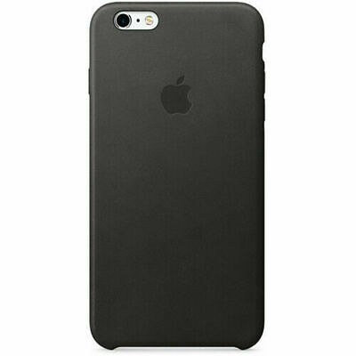 Apple Leather Case for iPhone 6 Plus 6s Plus Black MKXF2ZMA