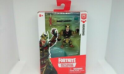 FORTNITE BATTLE ROYALE COLLECTION WUKONG 2 Figure Epic Games Moose 2019