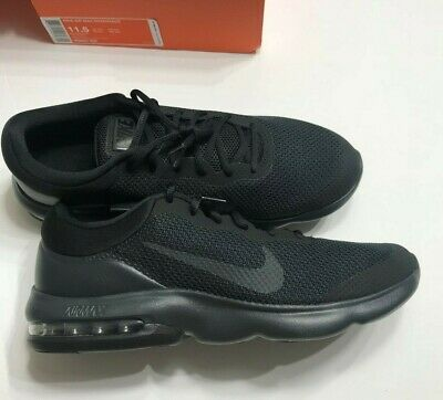 Nike Air Max Advantage Mens Running Sneakers Black Anthracite Sz 11-5 or 12