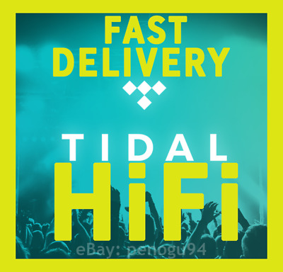 TIDAL HiFi Master Family Plan  3 Months GUARANTEED  6 Users  1 MIN DELIVERY