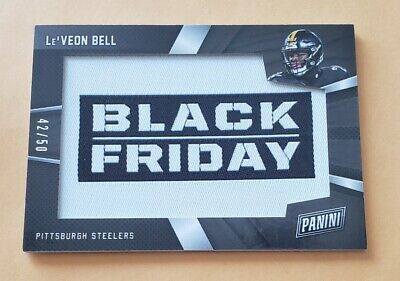 2018 Panini Black Friday Patches LB LeVeon Bell 4250