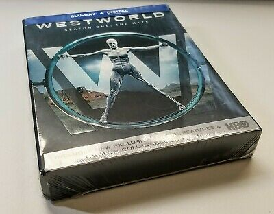 Westworld - Season 1 Blu-ray - Digital UV 2017 BRAND NEWSEALED