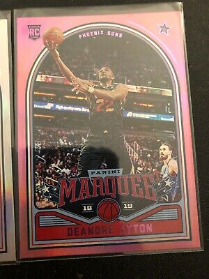 2018-19 PANINI CHRONICLES MARQUEE PINK PARALLEL 245 DEANDRE AYTON RC