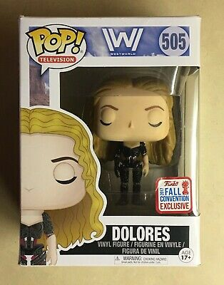 Funko POP Robot Dolores Westworld NYCC 2017 Exclusive Vinyl Figure 505