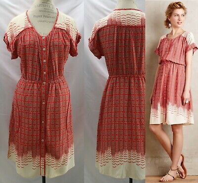 Anthropologie Veronica Shirt Dress By Maeve Size S