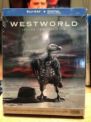 Westworld Season 2 The Door Blu-ray Discs - Digital 2019 HBO Brand New