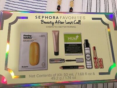 SEPHORA FAVORITES BEAUTY AFTER LAST CALL SET BRAND NEW IN THE BOX