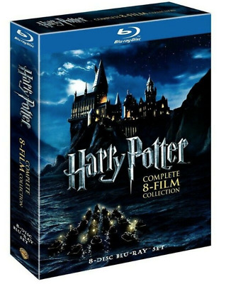 Harry Potter Complete 8-Film Collection Blu-ray Disc 2011 8-Disc Set