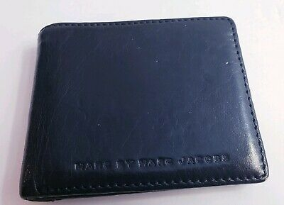 Marc By Marc Jacobs Authentic Mens Black Leather Wallet