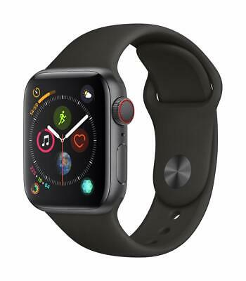 Apple Watch Series 4 40mm - GPS - Cellular Smartwatch - Space Gray Aluminum