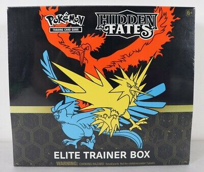Pokemon Hidden Fates Elite Trainer Box New - Sealed Free Shipping