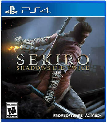 Sekiro Shadows Die Twice PS4 PlayStation 4 Brand New Sealed