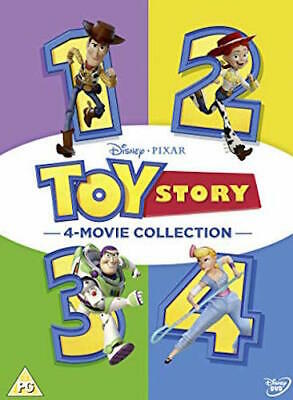 Toy Story I II III IV 6-Disc Set DVD Combo 1 2 3 4 Complete Collection Movie