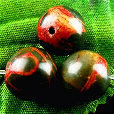 FF7014 3PCS 12mm Beautiful ball Picasso Jasper pendant bead