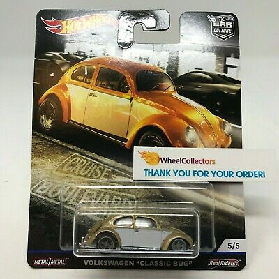 Volkswagen Classic Bug  2019 Hot Wheels BOULEVARD Car Culture Case M  IN STOCK