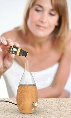 Raindrop Nebulizing Diffuser For Essential Oils Aromatherapy