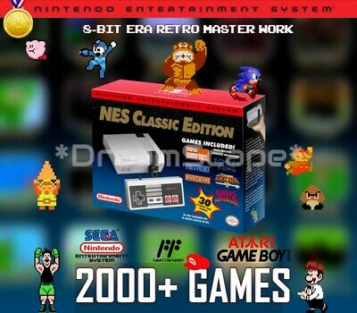 NES Classic Edition Nintendo Entertainment System Mini Console 2000- Games