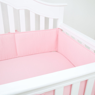 4PCSSet Baby Crib Bumper Pads Portable Safety Bed Cotton Protector Crib Liners