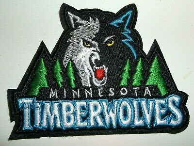 Minnesota Timberwolves Embroidered PATCH 3 12 x 2 58Iron or Sew OnNBA