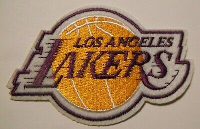 Los Angeles Lakers Embroidered PATCH 4 x 2 58Iron or Sew OnNBA