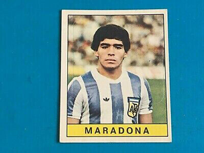 DIEGO MARADONA cards and stickers collection