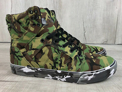 ROTHCO X SUPRA SKYTOP SHOES GRN CAMO CANT SEE ME EUR 44-5 MENS US SIZE 10-5