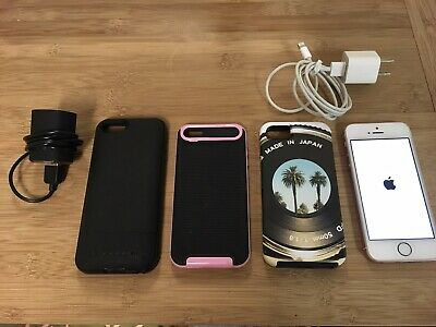 iphone SE 64gb Rose Gold - Verizon - with Accessories Morphie