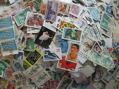 1000- US MIXTURE STAMPS OfF PAPERS FREE SHIPPING