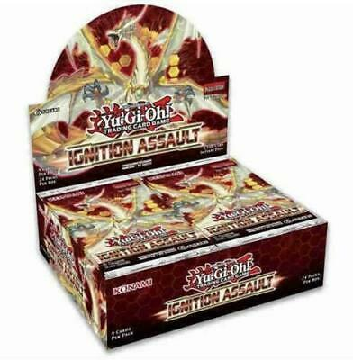Yugioh TCG Ignition Assault 1st Edition Booster Box New Factory Ship 131