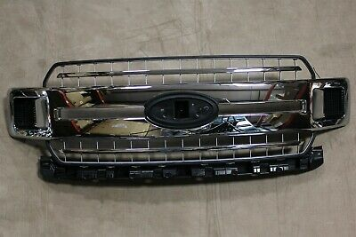 18-20 F150 Factory OEM Chrome Grill New Take Off Front Grille wo Camera 2019