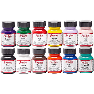 Angelus Acrylic Leather Paint 1 oz bottle