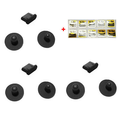 3 Sets Dust Plug For SONY Walkman NW-ZX500 ZX505 ZX507  Lotoo Paw Gold Touch
