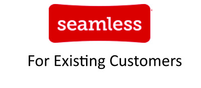 TWO Seamless-com 12 off 15 Code for EXISTING customers Delivery Only