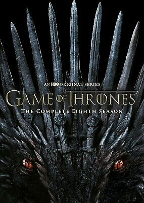 Game of Thrones Complete Season 8 DVD BRAND NEW SEALED