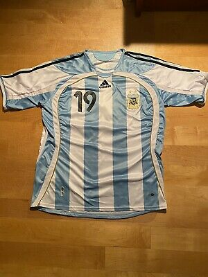 Messi 19 Argentina 2006 World cup Home jersey