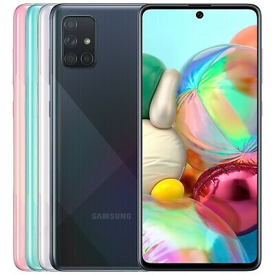 Samsung Galaxy A71 SM-A715FDS 128GB 8GB RAM FACTORY UNLOCKED 6-7 64MP