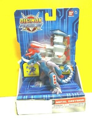 DIGIMON FUSION Metal Greymon Action Figure- Brand New in Package