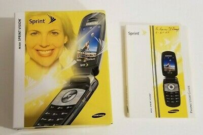 M300 Sprint Vision Phone User Guide with box no phone included