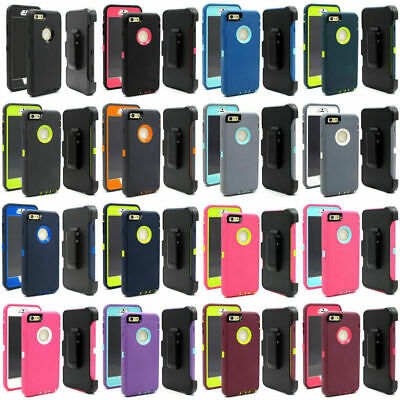 For iPhone 7 8 Plus Case Cover wBelt Clip Fits OtterBox Defender