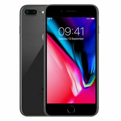 Apple iPhone 8 Plus - 256GB - Space Gray Unlocked A1897 GSM