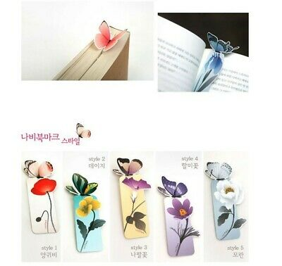 New 3D Butterfly Shape Bookmark Book Holder Book Clubs In US