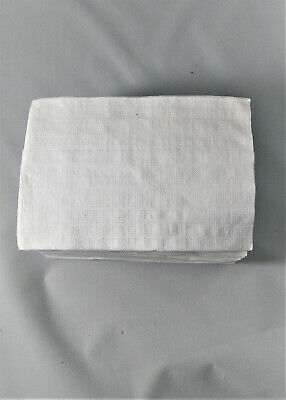 Paper Napkins White 1-ply 5 x 3-54 Pack of 400