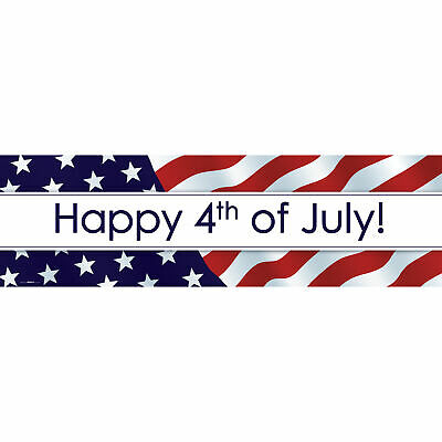 Happy 4th of July Banner STD