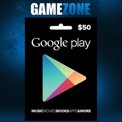 $50 Google Play Store Credit USA Only Dollars Android USD United States Digital